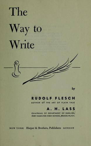 Download The way to write