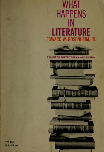 What happens in literature