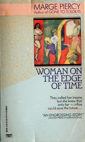 Woman on the edge of time.