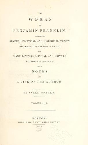 Download The works of Benjamin Franklin