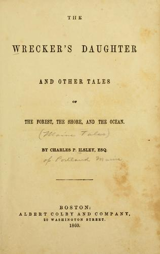 Download The wrecker's daughter