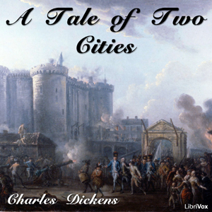 Tale of Two Cities(510) by Charles Dickens audiobook cover art image on Bookamo