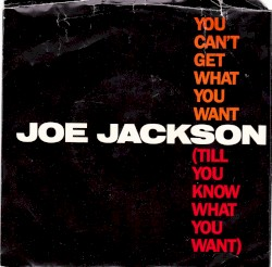 Joe Jackson - You Cant Get What You Want (Till You Know)