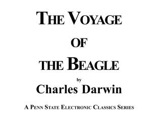 Cover of: Voyage of the Beagle | Charles Darwin