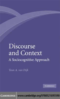 Discourse and context by Teun Adrianus van Dijk