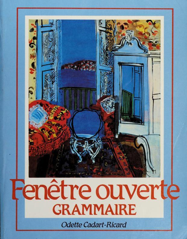 Fenêtre ouverte by Odette Cadart-Ricard