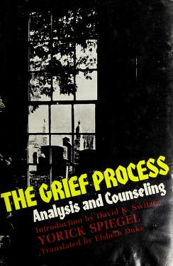 Cover of: The grief process | Worick Spiegel