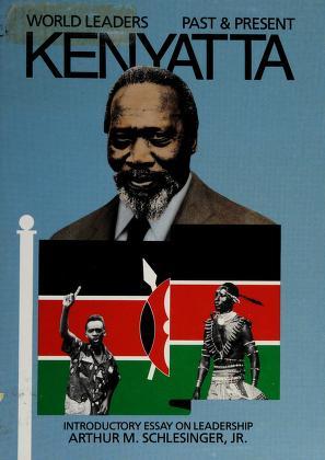 Cover of: Jomo Kenyatta | Dennis Wepman