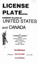 License Plate Book