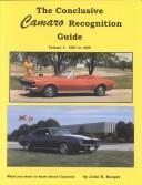 Conclusive Camaro Recognition Guide by John Hooper