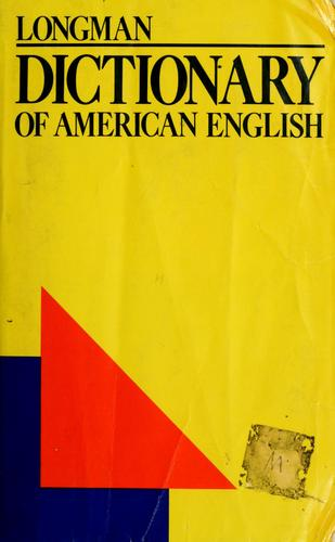 Longman dictionary of American English by