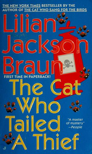 The cat who tailed a thief by Jean Little