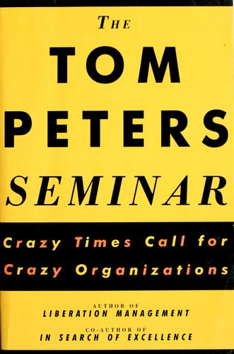 The Tom Peters seminar
