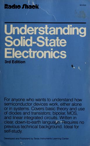 Understanding solid-state electronics by Texas Instruments Incorporated. Learning Center.
