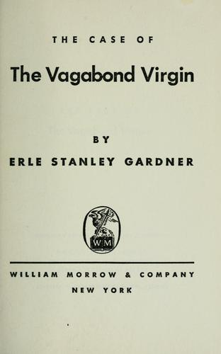 The case of the vagabond virgin by Erle Stanley Gardner