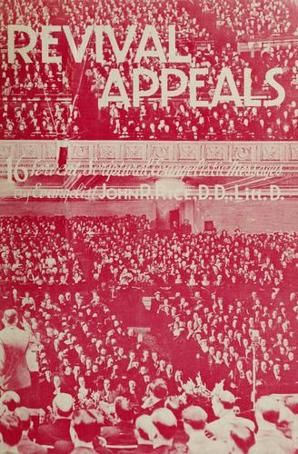 Revival appeals by John R. Rice