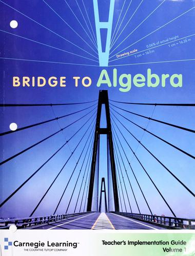 Bridge to algebra : student text by
