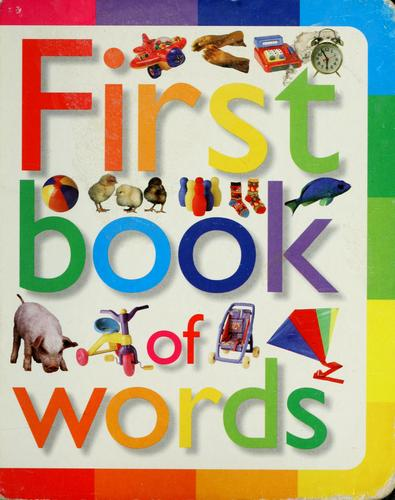 First book of words by Neil Morris