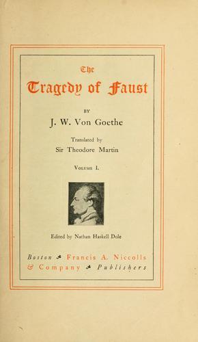 Goethe's works