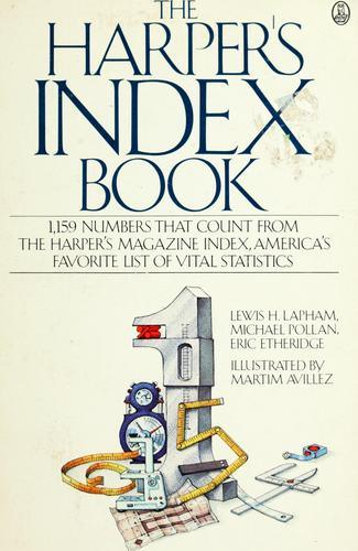The Harper's index book by Lewis H. Lapham