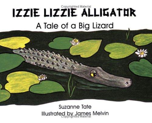 Izzie Lizzie alligator by Suzanne Tate