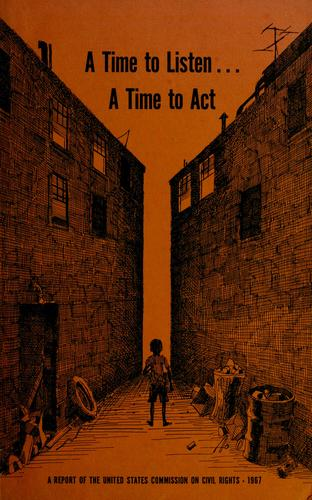 A time to listen…a time to act