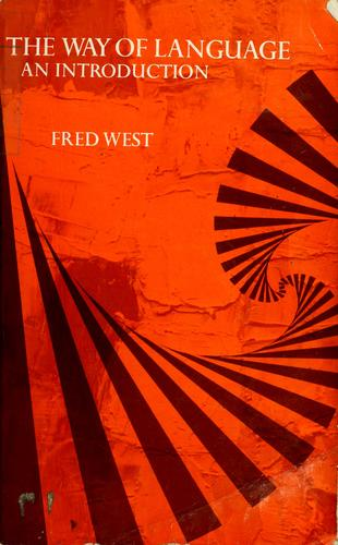 The way of language by Fred West